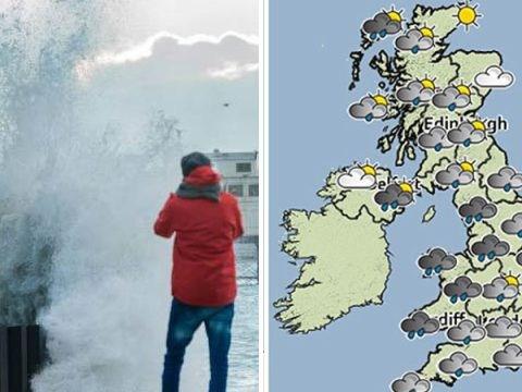 UK weather: No white Christmas, no storm 'Christmas Eva' (possibly some showers)