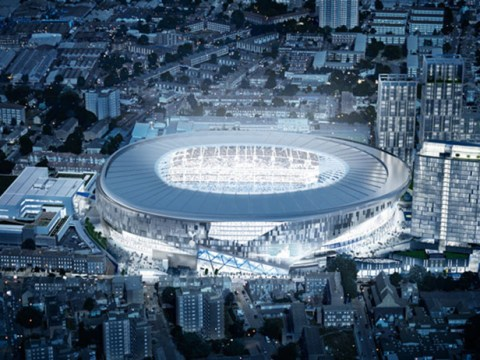 Spurs to have biggest club stadium in London after £400m plans are granted by local council