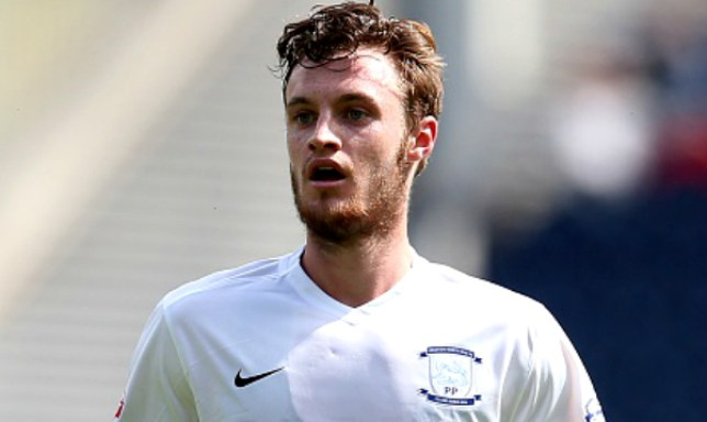 PRESTON, ENGLAND - JULY 18: Will Keane of Preston North End looks on during the pre season friendly match between Preston North End and Hearts at Deepdale on July 18, 2015 in Preston, England. (Photo by Chris Brunskill/Getty Images)