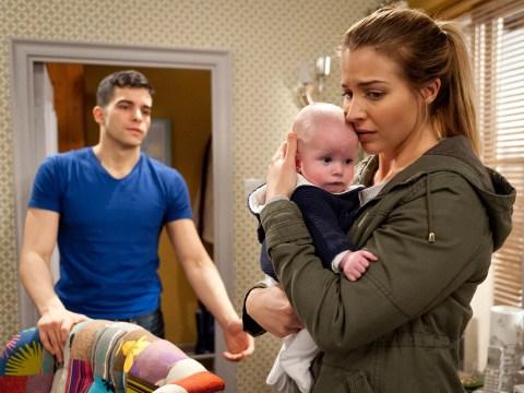 Emmerdale spoilers: Carly Hope's horror as Kirin Kotecha loses it with baby Johnny