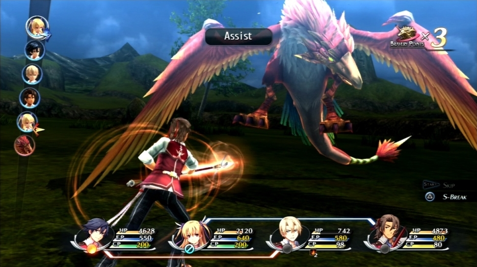The Legend Of Heroes: Trails Of Cold Steel (PSV) - pretty hot for an old school JRPG