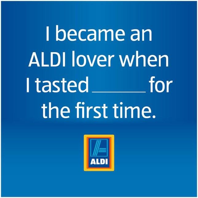 Aldi Fill in the blank!