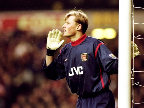 Former Arsenal goalkeeper Alex Manninger is training with Liverpool