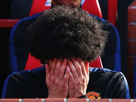 Stats suggest Manchester United should sell Marouane Fellaini
