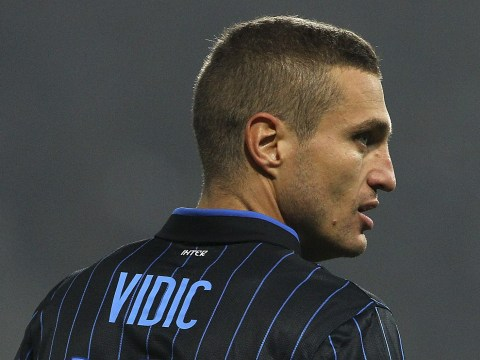 Nemanja Vidic set to become free agent as Inter Milan agree to terminate his contract