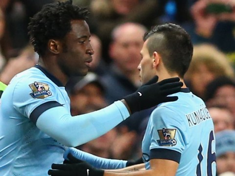 Wilfried Bony: I'm not leaving Manchester City
