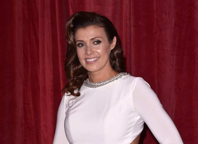MANCHESTER, ENGLAND - MAY 16: Kym Marsh attends the British Soap Awards at Manchester Palace Theatre on May 16, 2015 in Manchester, England. (Photo by Richard Stonehouse/Getty Images)