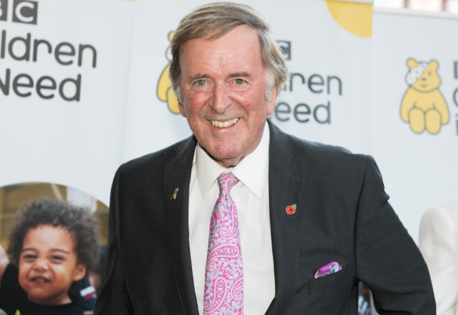 LONDON, UNITED KINGDOM - NOVEMBER 01: Sir Terry Wogan arrives for Terry Wogan's Gala Lunch for Children In Need at the Landmark Hotel on November 01, 2015 in London, England. (Photo by Nicky J. Sims/Getty Images)