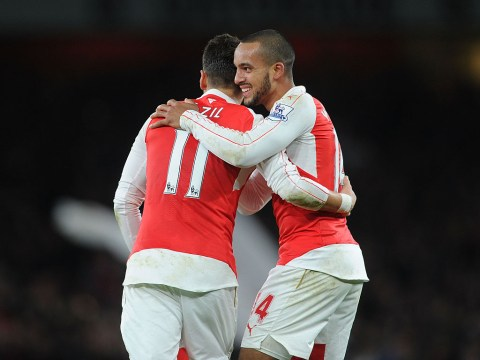 Arsenal's Theo Walcott reveals telepathic understanding with Mesut Ozil