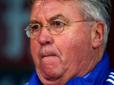 Chelsea boss Guus Hiddink rules out staying beyond the end of this season amid Pep Guardiola speculation