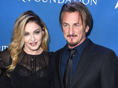 Madonna 'declares her love' for Sean Penn on stage at charity event