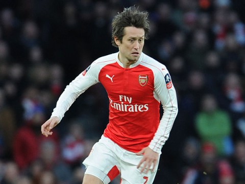 Tomas Rosicky out for six weeks after picking up injury during Burnley win