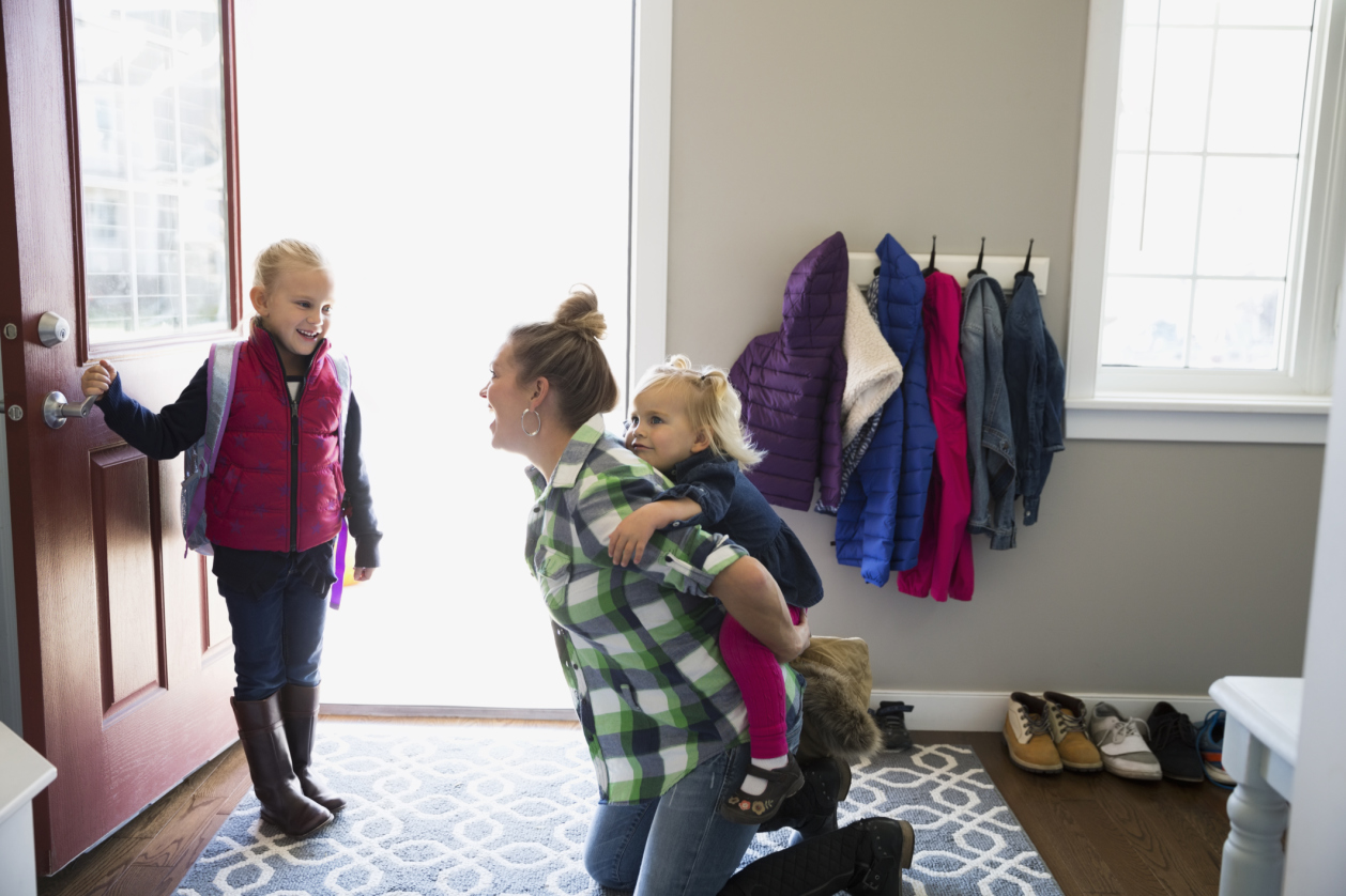 10 struggles every parent will face just getting out the front door in the morning
