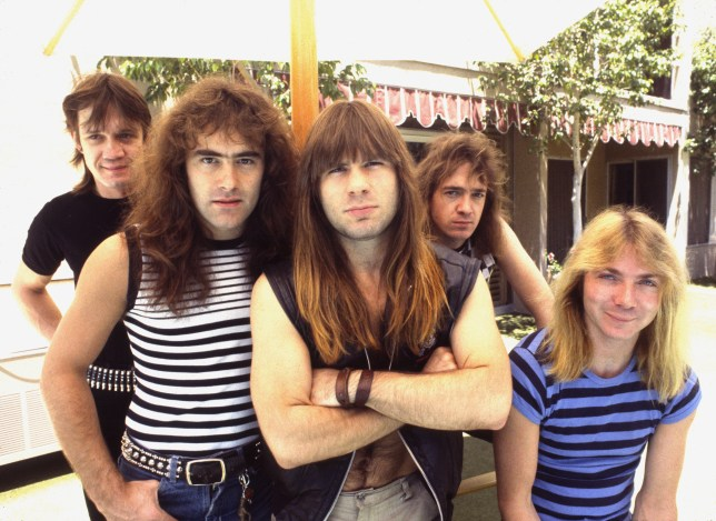 Iron Maiden 1983 Nicko McBrain, Steve Harris, Bruce Dickinson, Adrian Smith and Dave Murray ? Chris Walter (Photo by Chris Walter/WireImage)