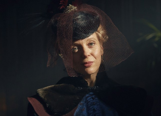 WARNING: Embargoed for publication until 00:00:01 on 24/11/2015 - Programme Name: Sherlock - TX: 01/01/2016 - Episode: The Abominable Bride (No. 1) - Picture Shows: **STRICTLY EMBARGOED FOR PUBLICATION UNTIL 24TH NOVEMBER 2015** Mary Watson (AMANDA ABBINGTON) - (C) Hartswood Films - Photographer: Robert Viglasky