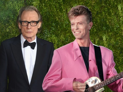 Bill Nighy praises 'great Englishman and great mover' David Bowie in touching audio clip