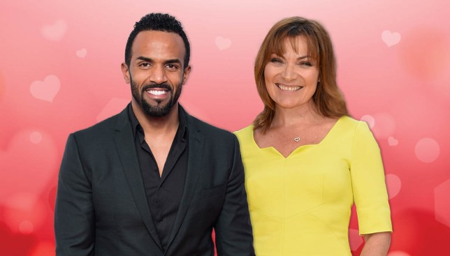 Craig David and Lorraine Kelly are having a Twitter love fest Credit: Getty Images/Metro