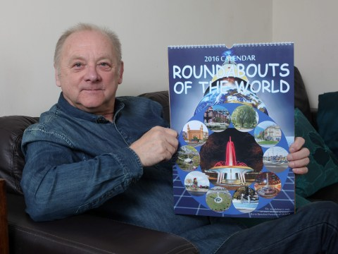 Self-confessed 'dull' man creates 2016 calendar of his favourite roundabouts