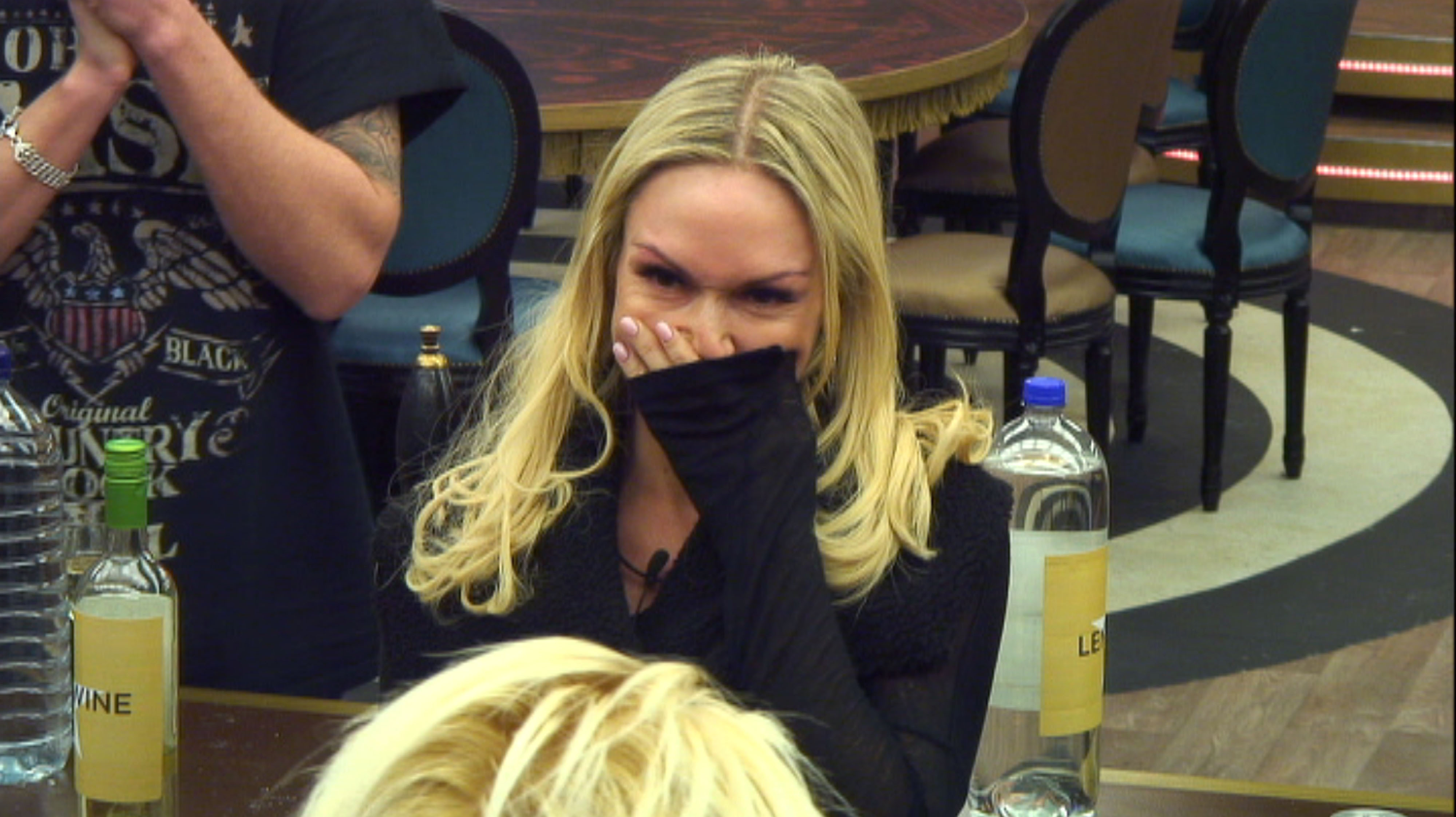 Kristina Rihanoff announces that she's pregnant in the Celebrity Big Brother house