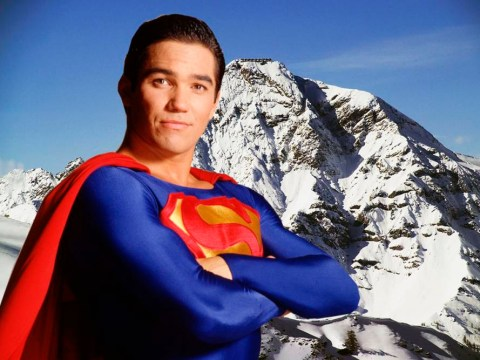 Superman star Dean Cain prepares for lift-off as he signs up for Channel 4's The Jump