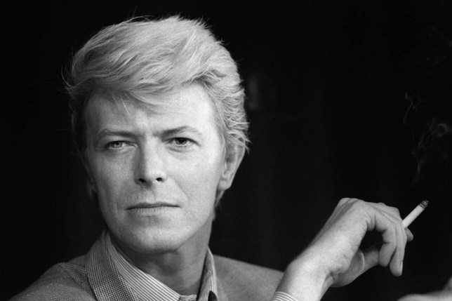 "A portrait taken on May 13, 1983 shows British singer David Bowie during a press conference at the 36th Cannes Film Festival. He is the main actor in Nagisa Oshima's film ""Furyo (Merry christmas Mr. Lawrence)"", official selection in Cannes. He is also with French actress Catherine Deneuve maina ctor in Tony Scott's film ""The hunger"" presented out competition at the festival. AFP PHOTO RALPH GATTI (Photo credit should read RALPH GATTI/AFP/Getty Images)"