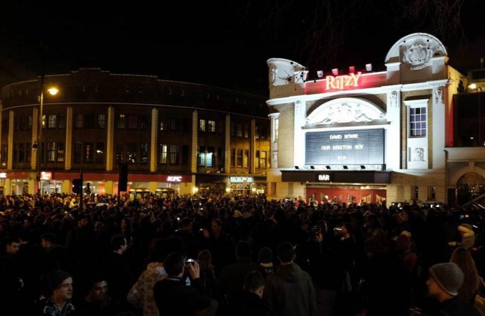 David Bowie Brixton party saw fans celebrate his life next