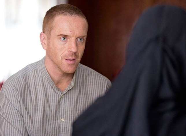No Merchandising. Editorial Use Only. No Book Cover Usage.. Mandatory Credit: Photo by Showtime/Everett/REX/Shutterstock (3497338c).. Homeland - Damian Lewis.. Homeland - 17 Sep 2013.. ..