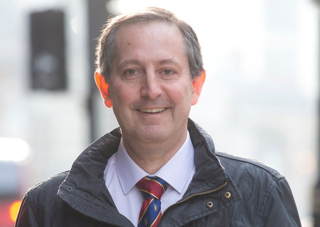 Dentist Alan Morrison attends a hearing at the General Dental Council, of Bishopsgate Court, London, after being accused of sparking an HIV scare at his clinics in Drongan's Mill of Shields Road, and Millbank Lane, Cumnock. January 13, 2016.