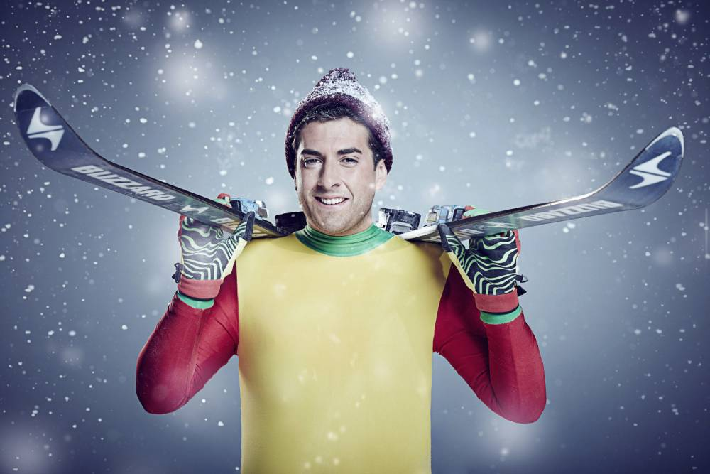 EXCLUSIVE: Lydia Bright says James Argent has injured himself on The Jump already
