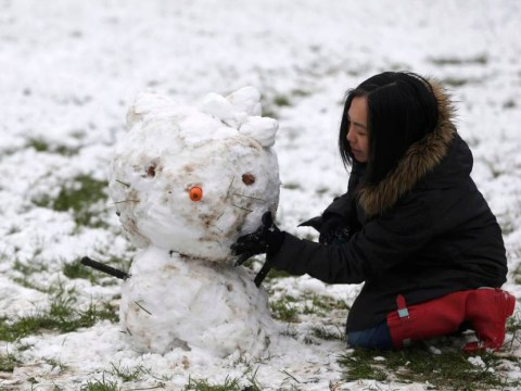 #LondonSnow: First snow in the capital blows everyone's minds