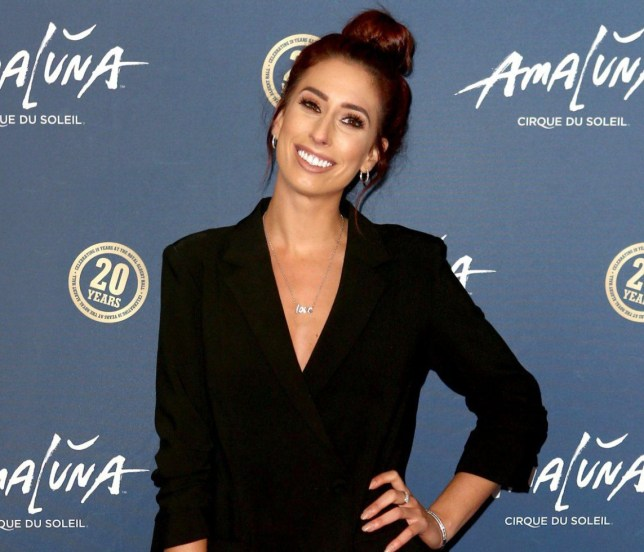 Mandatory Credit: Photo by James Shaw/REX/Shutterstock (5549984ae) Stacey Solomon 'Cirque du Soleil: Amaluna' press night, Royal Albert Hall, London, Britain - 19 Jan 2016