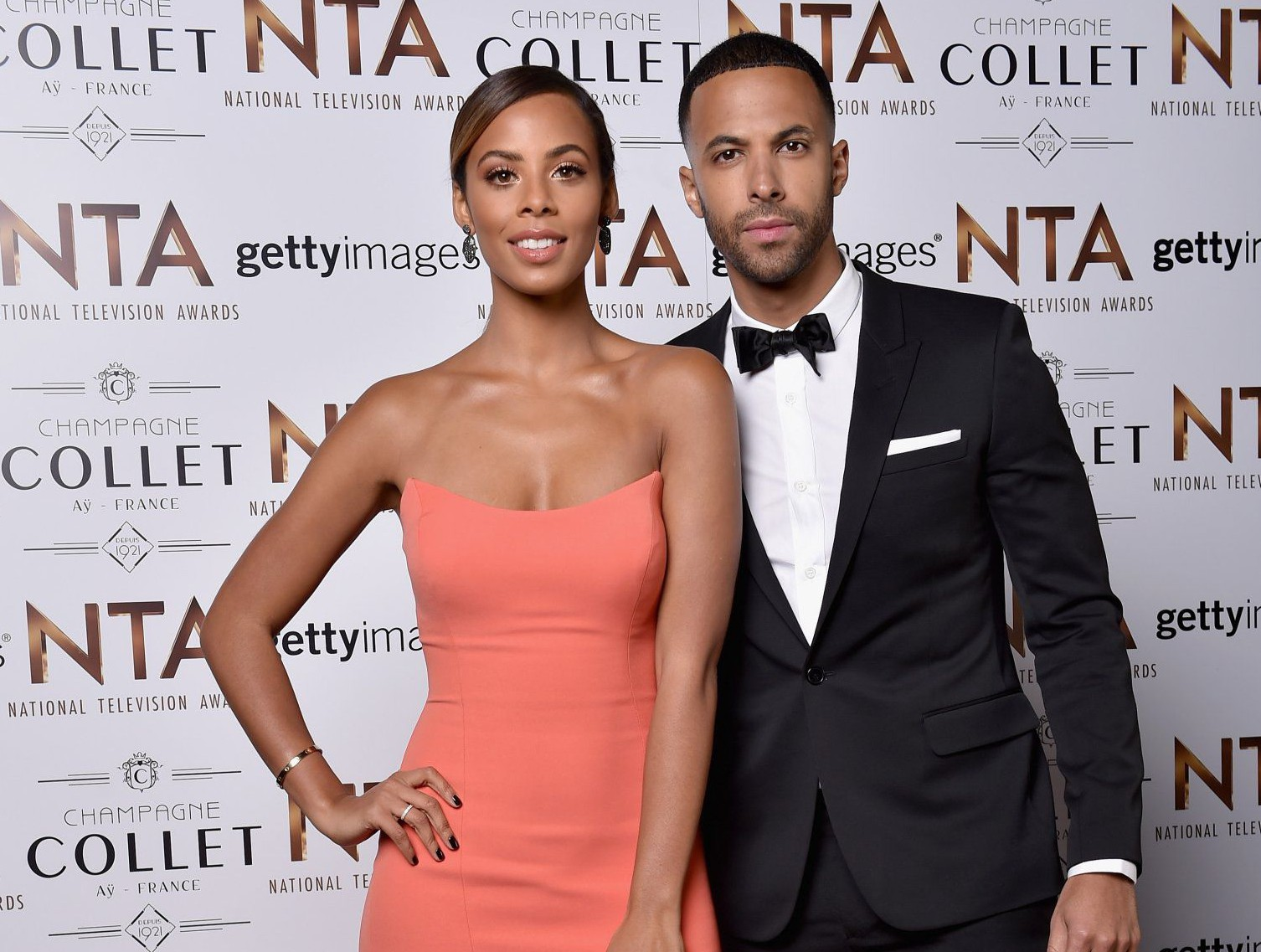 Rochelle and Marvin Humes are expecting their second child