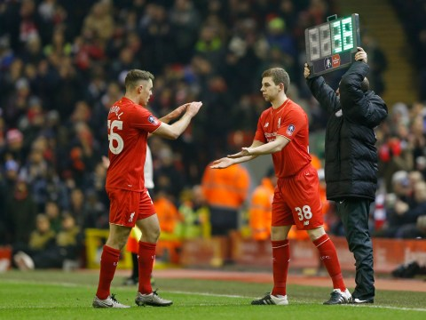 Jon Flanagan gets standing ovation after making return from injury during Liverpool v Exeter City