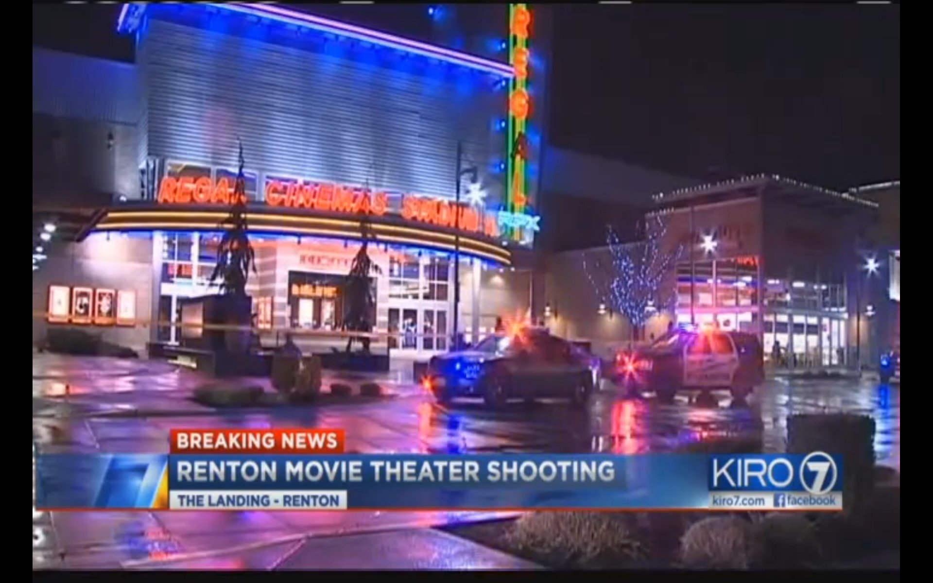 Police in Washington state have arrested a man who they say drunkenly shot a woman inside a movie theater after dropping his gun. The incident took place shortly after 8pm Thursday at Regal Cinemas at The Landing in Renton. Investigators say a 29-year-old man appearing to be intoxicated fumbled with a gun and shot a 40-year-old woman during a showing of the movie 13 Hours: The Secret Soldiers of Benghazi. Police believe believe the suspect and victim did not know each other. The unnamed victim suffered a gunshot wound to her shoulder area and was rushed to Harbor View Medical Center in critical condition. Hospital spokeswoman Susan Gregg said Thursday night the woman's condition has since been upgraded to stable. Following the shooting, witnesses say the gunman calmly walked out of the theater and headed to a nearby restaurant, where he dropped the weapon and went to use the bathroom. The 29-year-old later returned to his home in Newcastle and called 911, telling police the shooting was accidental.