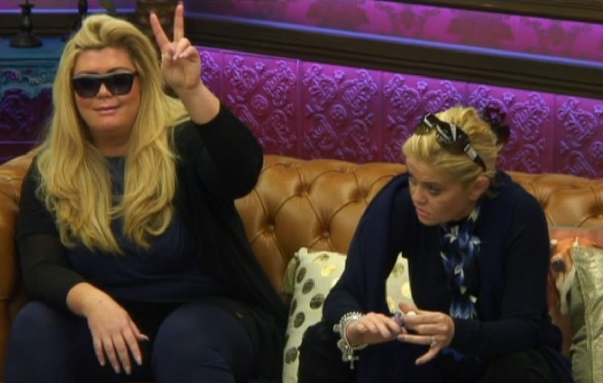 Editorial Use Only Mandatory Credit: Photo by REX/Shutterstock (5550939bg) Gemma Collins and Danniella Westbrook 'Celebrity Big Brother' TV show, Elstree Studios, Hertfordshire, Britain - 21 Jan 2016