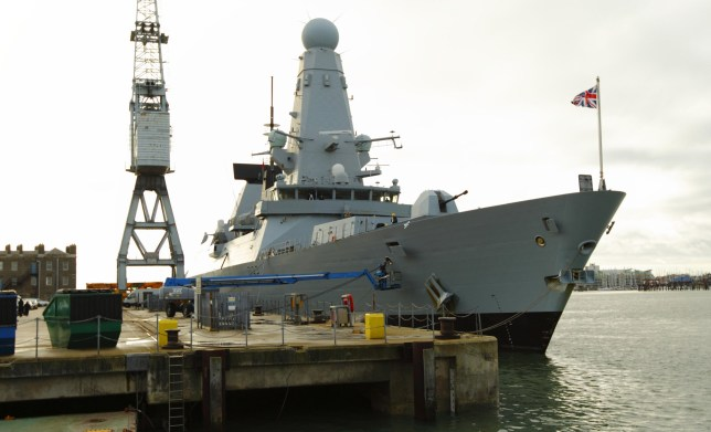 File photo dated 10/1/2012 of HMS Daring, one of the Royal Navy's six Type 45 destroyers which are to be fitted with new engines during major refits amid concerns over their reliability. PRESS ASSOCIATION Photo. Picture date: Friday January 29, 2016. See PA story DEFENCE Destroyers. Photo credit should read: Chris Ison/PA Wire