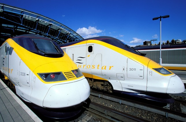 United Kingdom, London, Waterloo station, Eurostar arrival