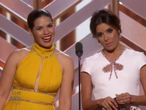 Golden Globes 2016: America Ferrera and Eva Longoria called out Hollywood racism with this simple joke