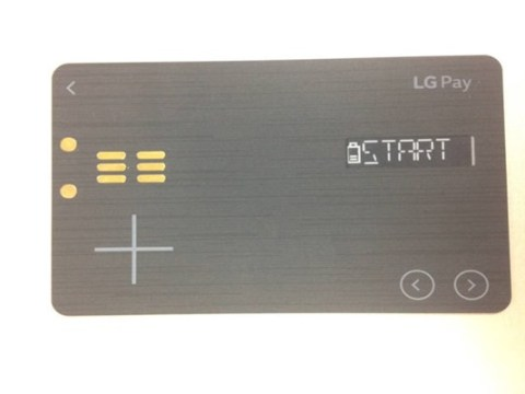 LG 'tries to replace all your credit/debit cards and cash with just one card alone'