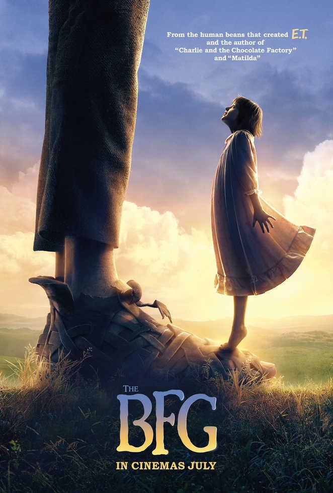 BFG teaser poster