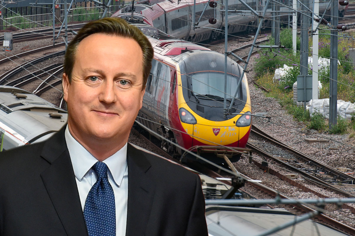 Rail fares have increased by up to £2,000 – and it's all David Cameron's fault