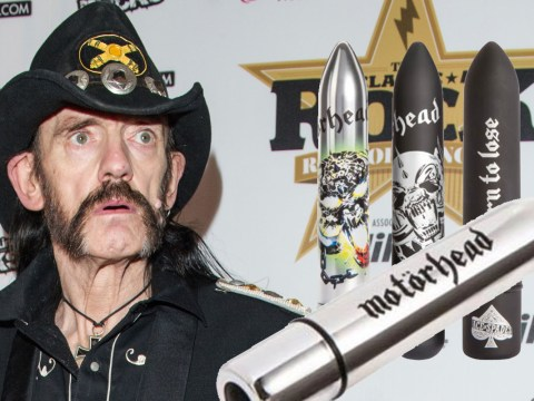 Good vibrations! Lemmy's Motörhead sex toy range goes into the January sales
