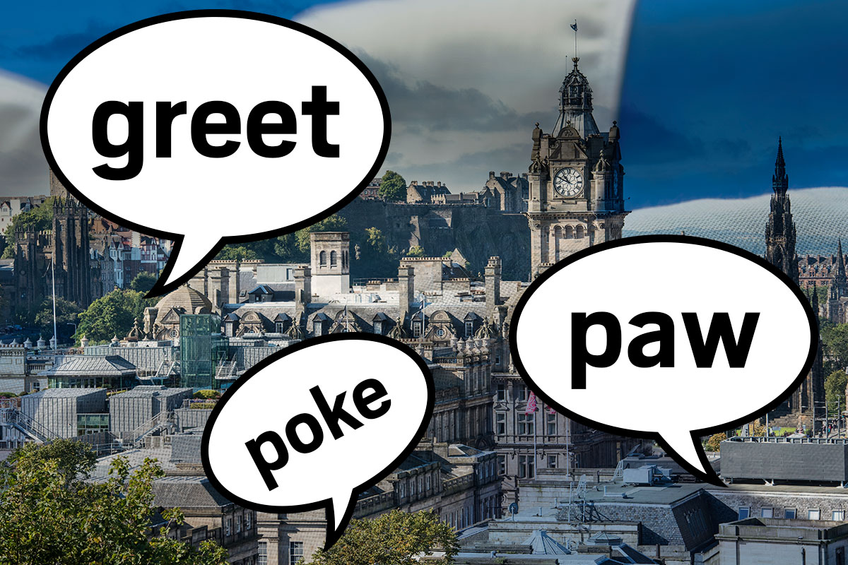 Words we all know that mean something totally different in Scotland Getty