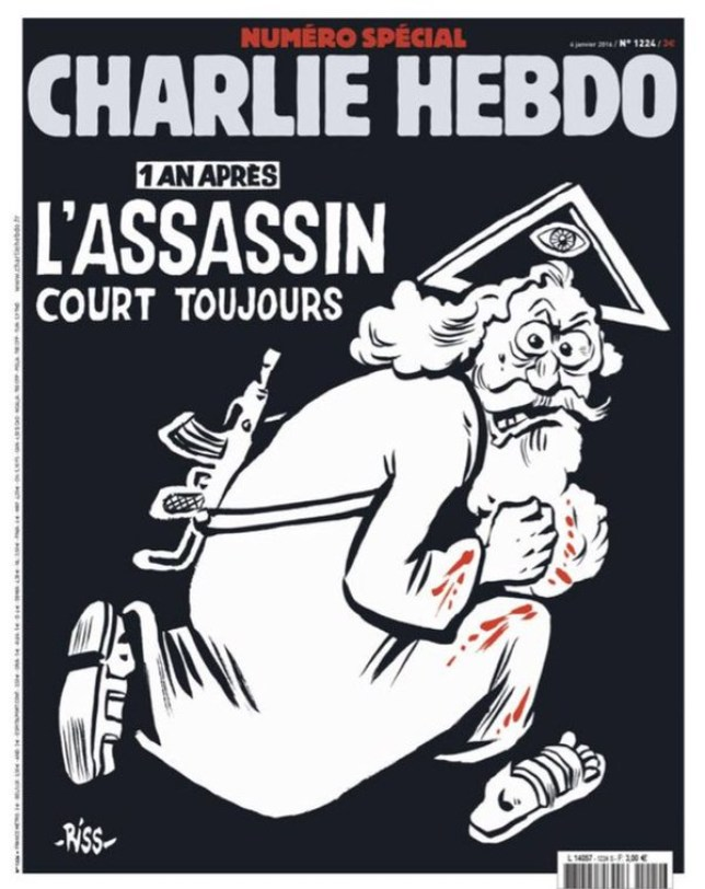Charlie Hebdo One Year On New Cover Released Of Satirical