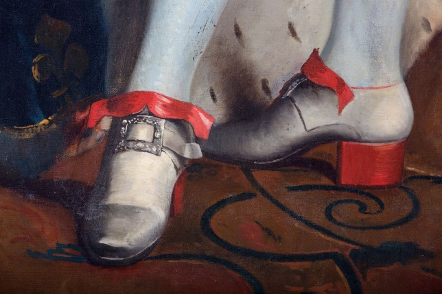 Louis XIV loved shoes with a red sole and heel (Picture: Alamy)