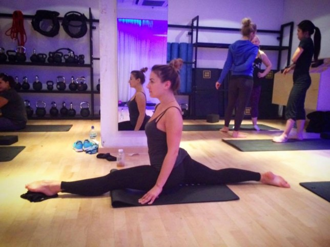 Cheryl Teagann reveals how to learn to do the splits in 12