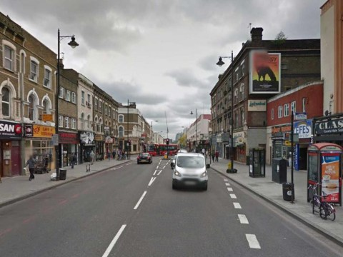 'Totally naked' man found running down street in East London