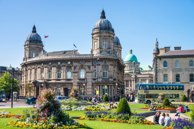 F81PG0 Hull Maritime Museum in the Dock Offices building Queen Victoria square Kingston upon Hull Yorkshire England UK GB EU Europe Hull has been named one of world's best cities. Here's what's so good about it Credit: Alamy