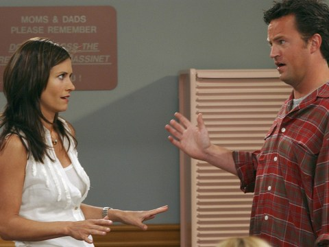Monica and Chandler might be reuniting on TV, according to Matthew Perry