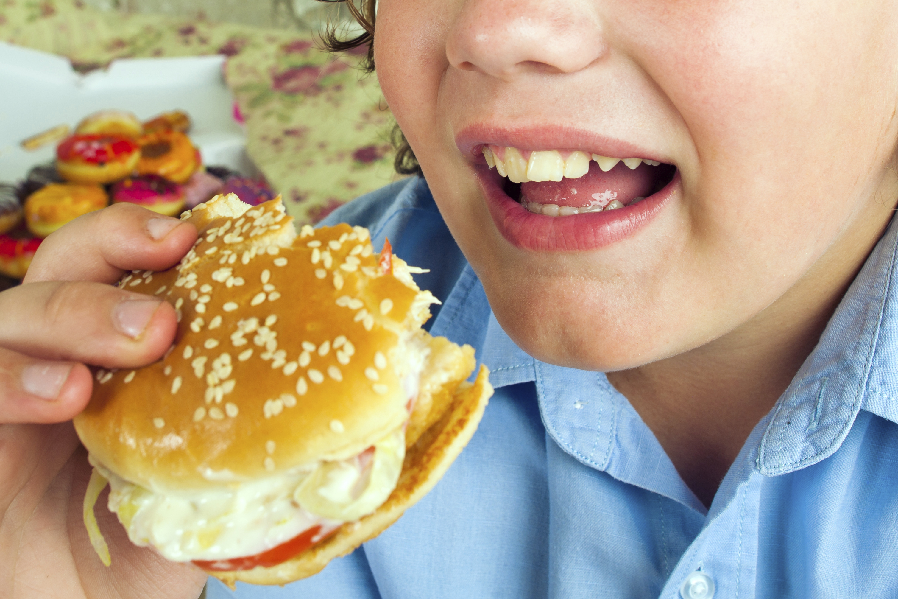 England's poor children are more likely to be obese (Picture: Getty)
